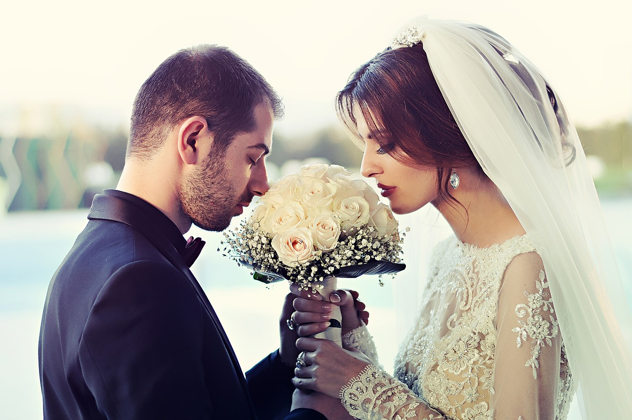 זוג לפני חתונה